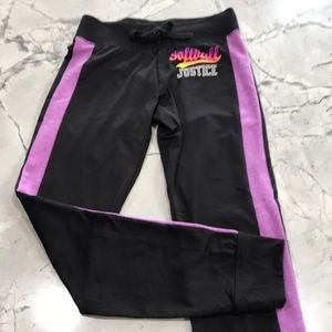 Justice girls sport joggers